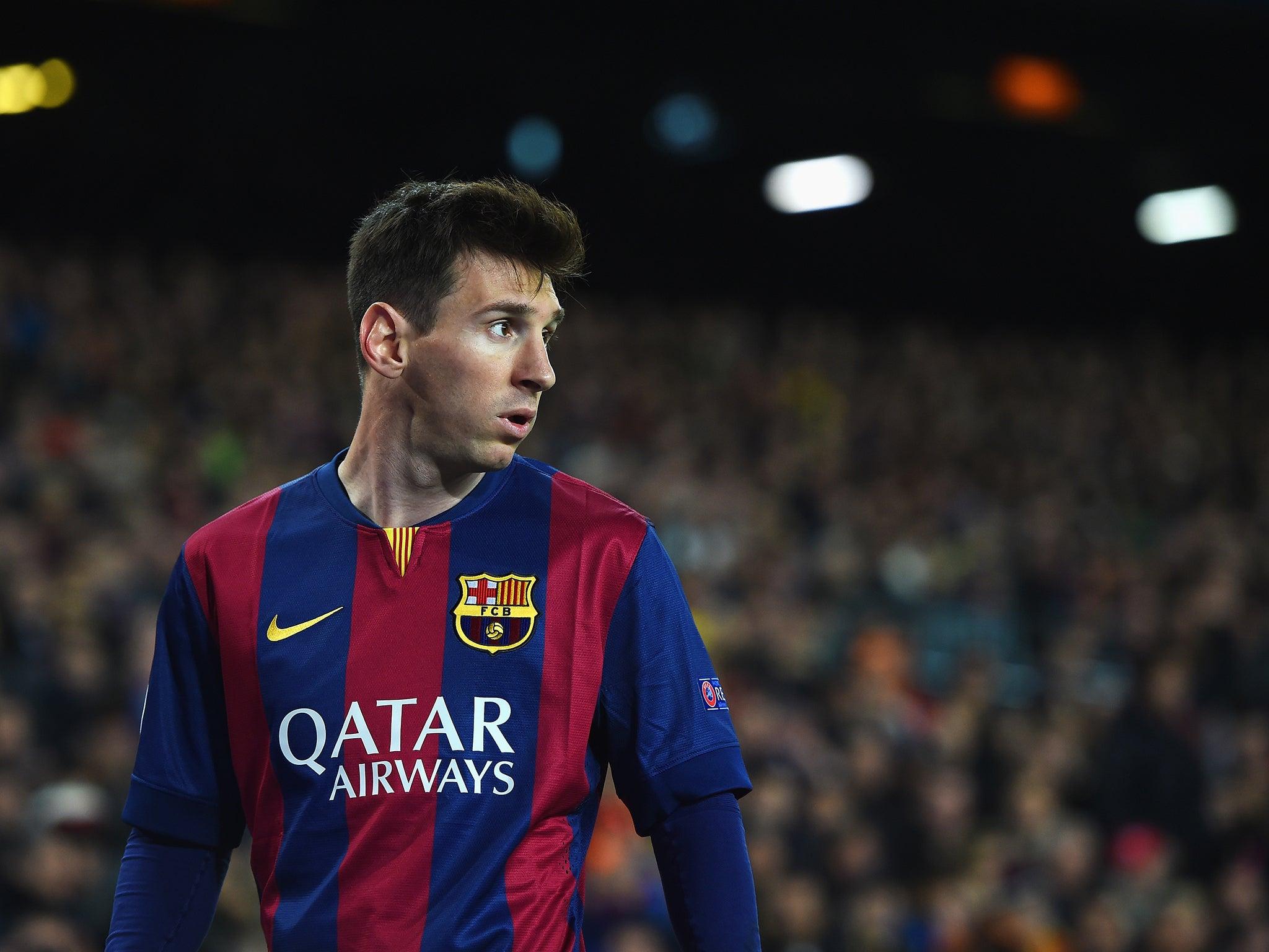 Barcelona Vs Man City Logo: El Clasico: Lionel Messi Has 21