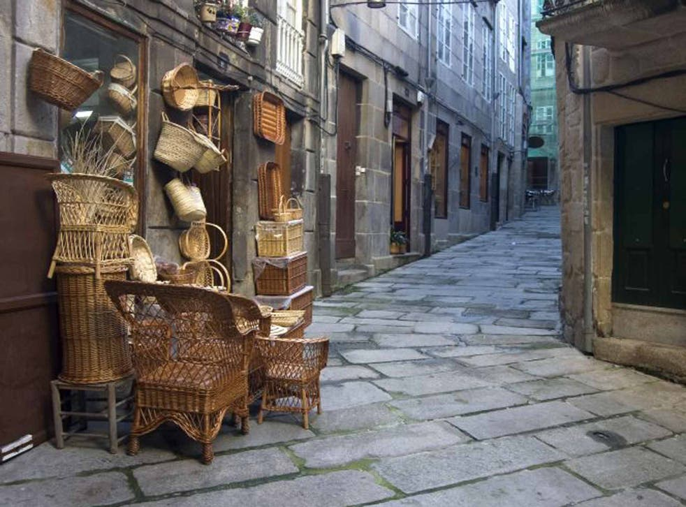 Old favourite: arts and crafts in the Casco Vello