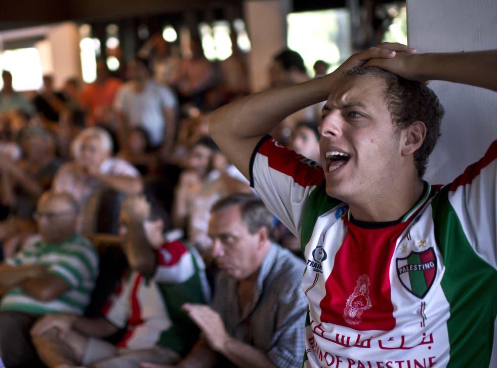 Deportivo Palestino football club.