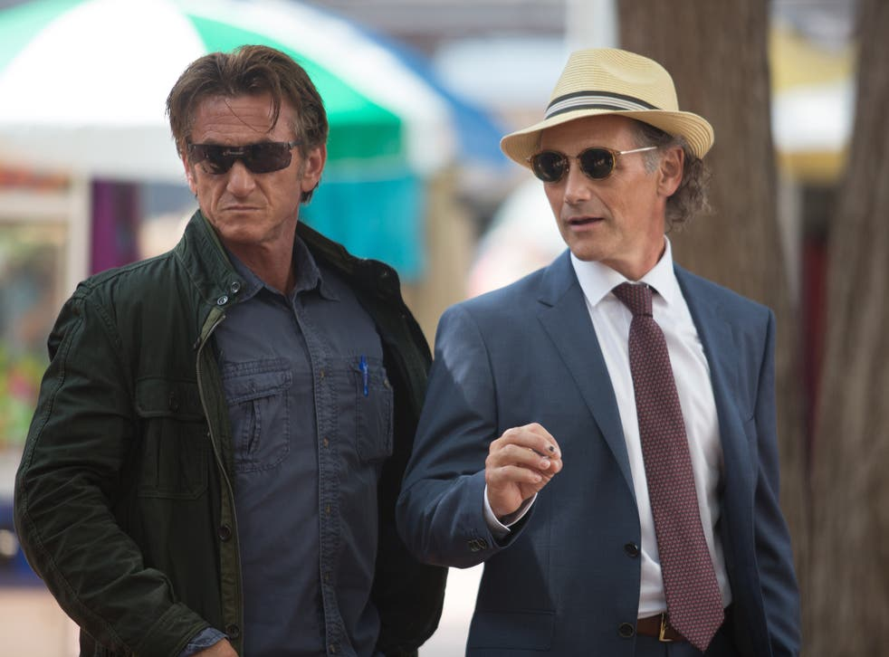 A cut above: Sean Penn is outclassed by Mark Rylance in 'The Gunman'