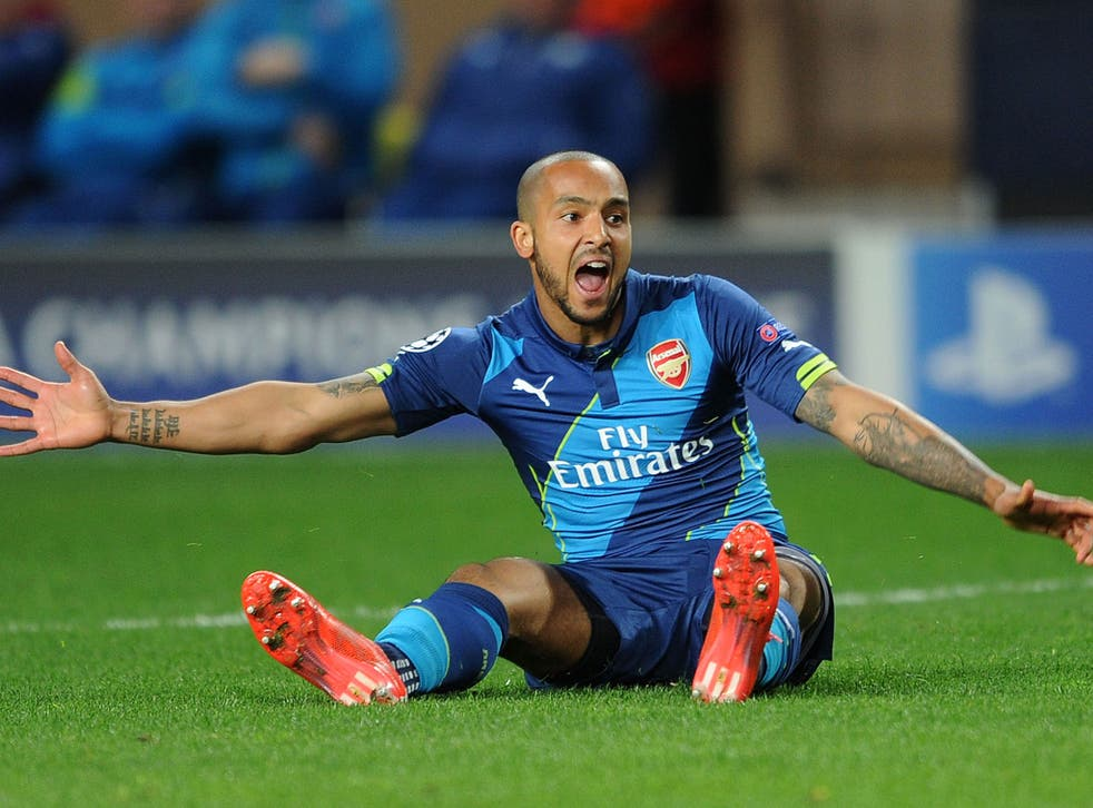 Theo Walcott has 15 months left to run on his current contract