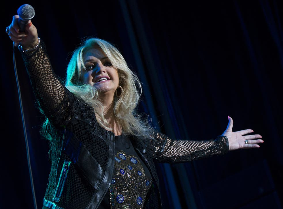 Bonnie Tyler's Total Eclipse of the Heart is trending