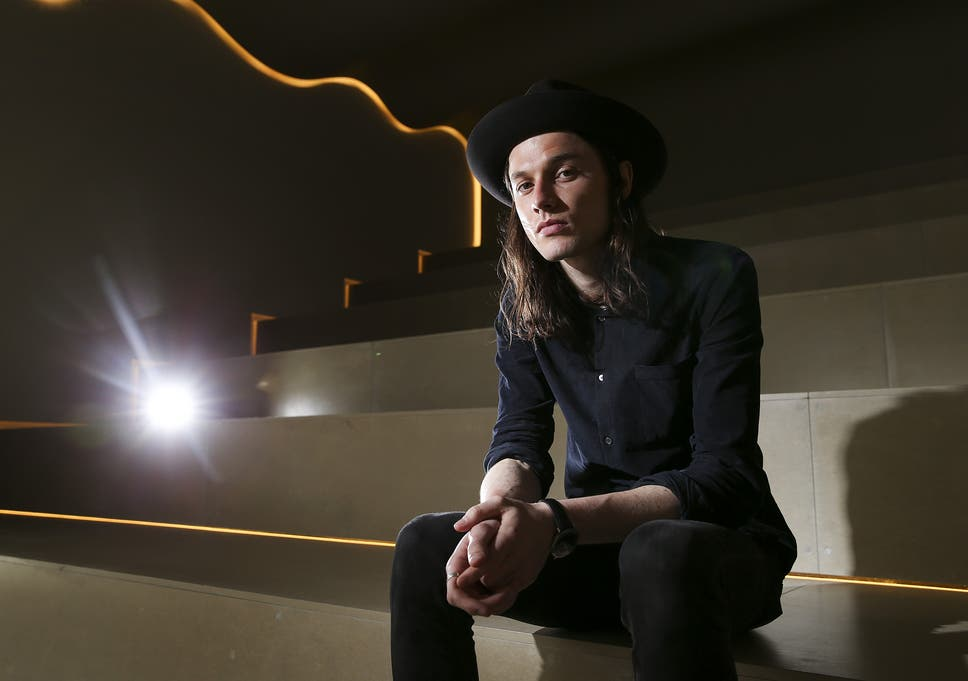 06f8d6a7ee4c6 Hat s the way to do it  James Bay under his ubiquitous headwear