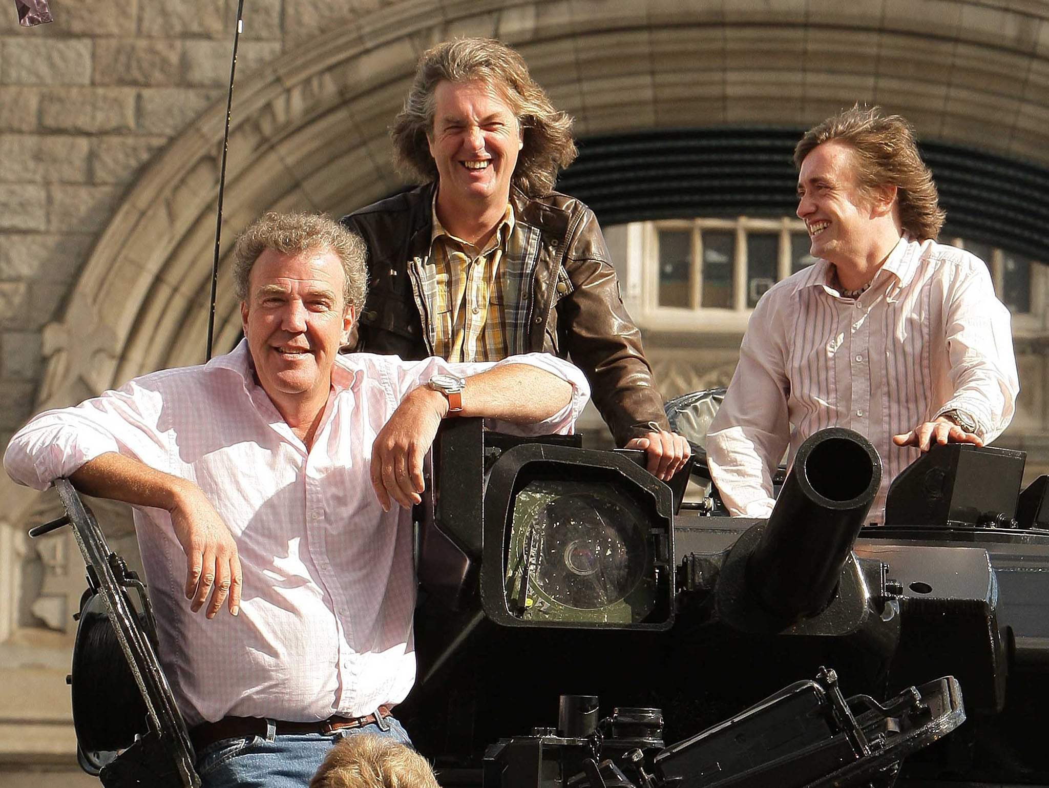 The grand tour jeremy clarkson hosted amazon primie car show to film first live audience in south africa the independent