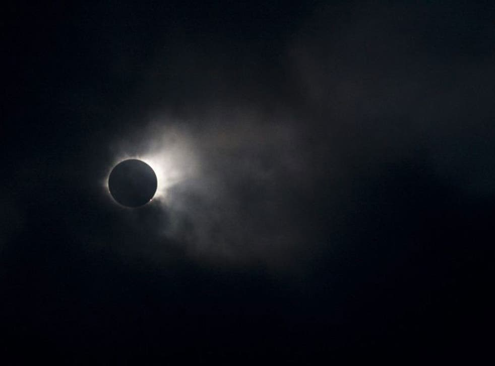 The total solar eclipse over the Faroe Islands on 20 March, 2015