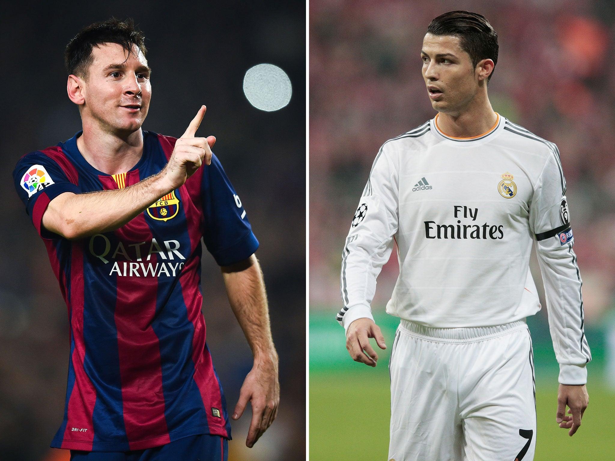 Barcelona vs Real Madrid - El Clasico: Messi, Ronaldo