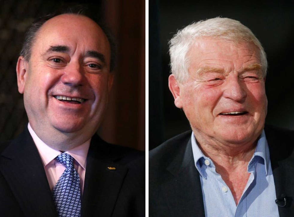Paddy Ashdown's remarks on Alex Salmond's book have not been well-received