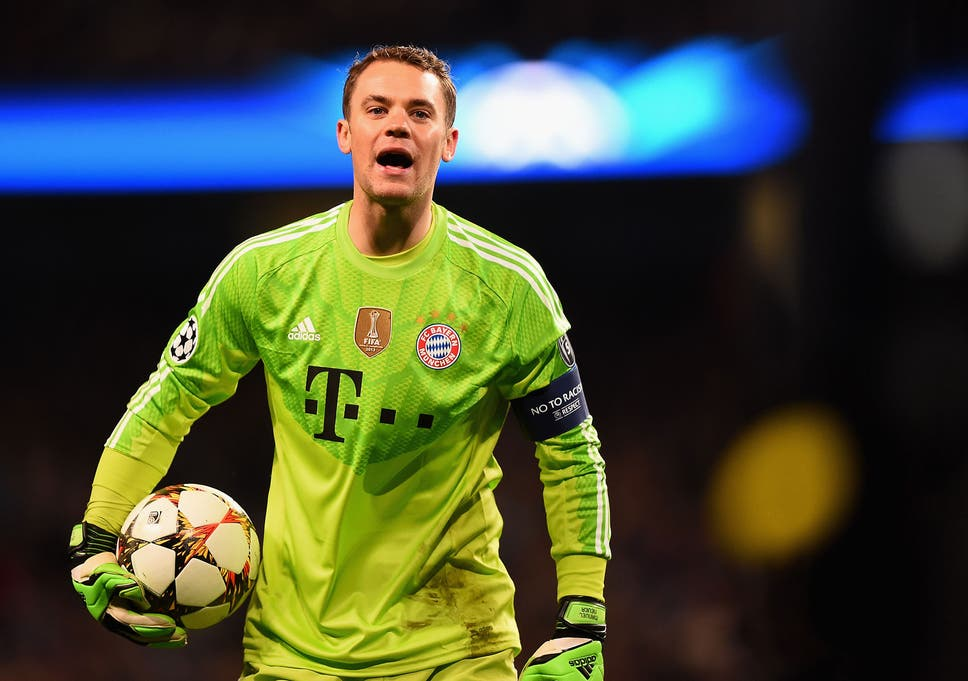 promo code 8653b 40eaa Manuel Neuer is human after all: Bayern Munich goalkeeper ...