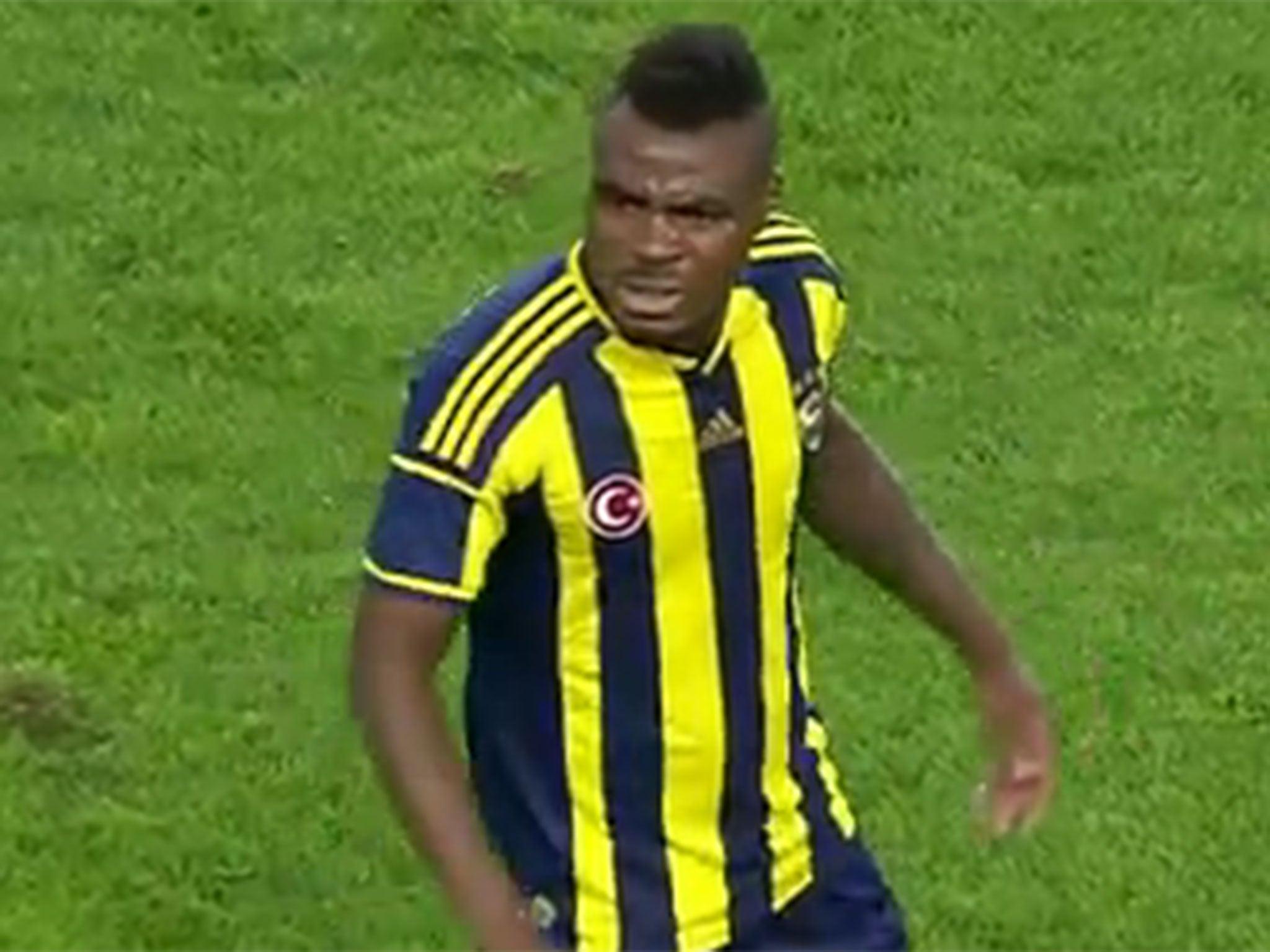Fenerbahce striker Emmanuel Emenike s upset after being booed
