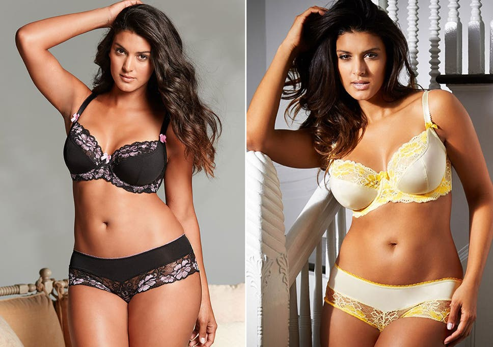 ebb845dde4489 Revealed: Plus-size models sell more lingerie than slim models – and ...