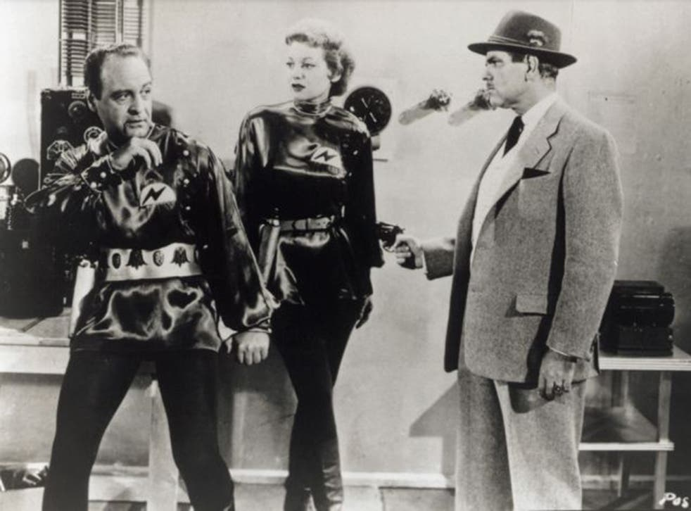 So bad it's good? A scene from 'Plan 9 from Outer Space'