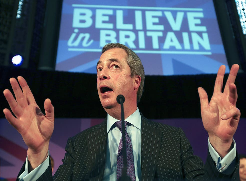 Nigel Farage's party has seen a tricky couple of weeks