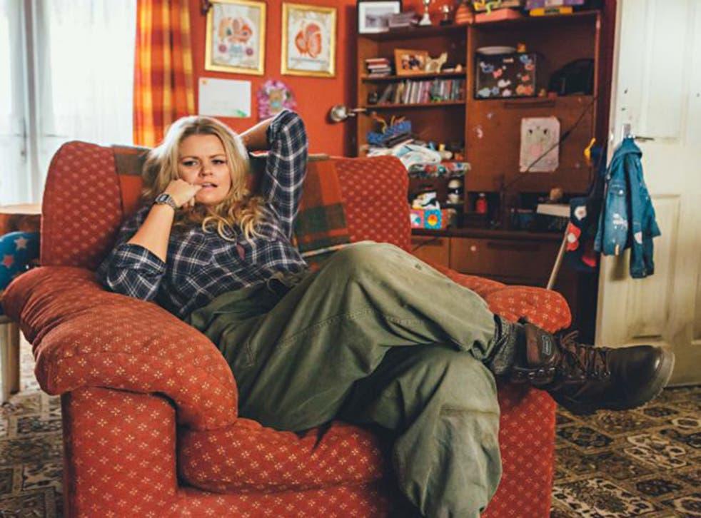 Rebekah Staton as Della in 'Raised by Wolves'