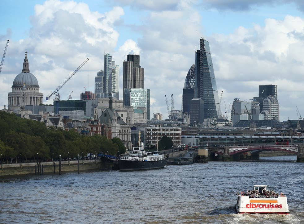 Cranes and building work dominate the skyline on October 24, 2013 in London, England. Reports of recent figures show that London is bucking the national trend, with economic growth continuing after the 2008 crash.