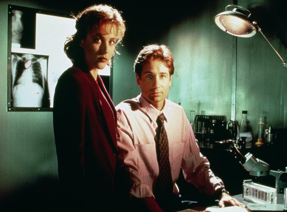 Fox Mulder and Dana Scully in The X-Files