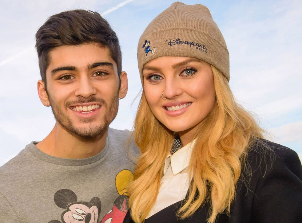 Zayn got engaged to Perrie Edwards, a singer with the group Little Mix, in August 2013
