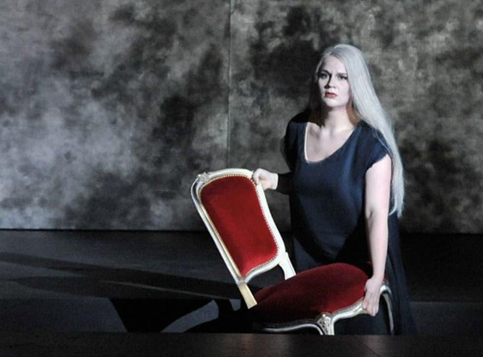 Radner in 2010 in rehearsals for Götterdämmerung at the Salzburg Easter Festival