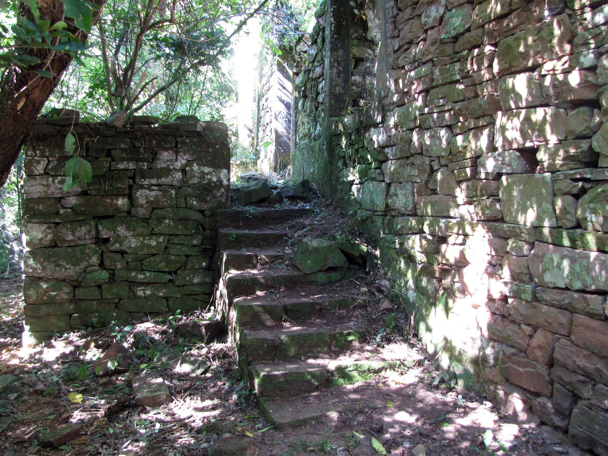 Mission to find Nazis' bunker hideout in the Argentinian jungle