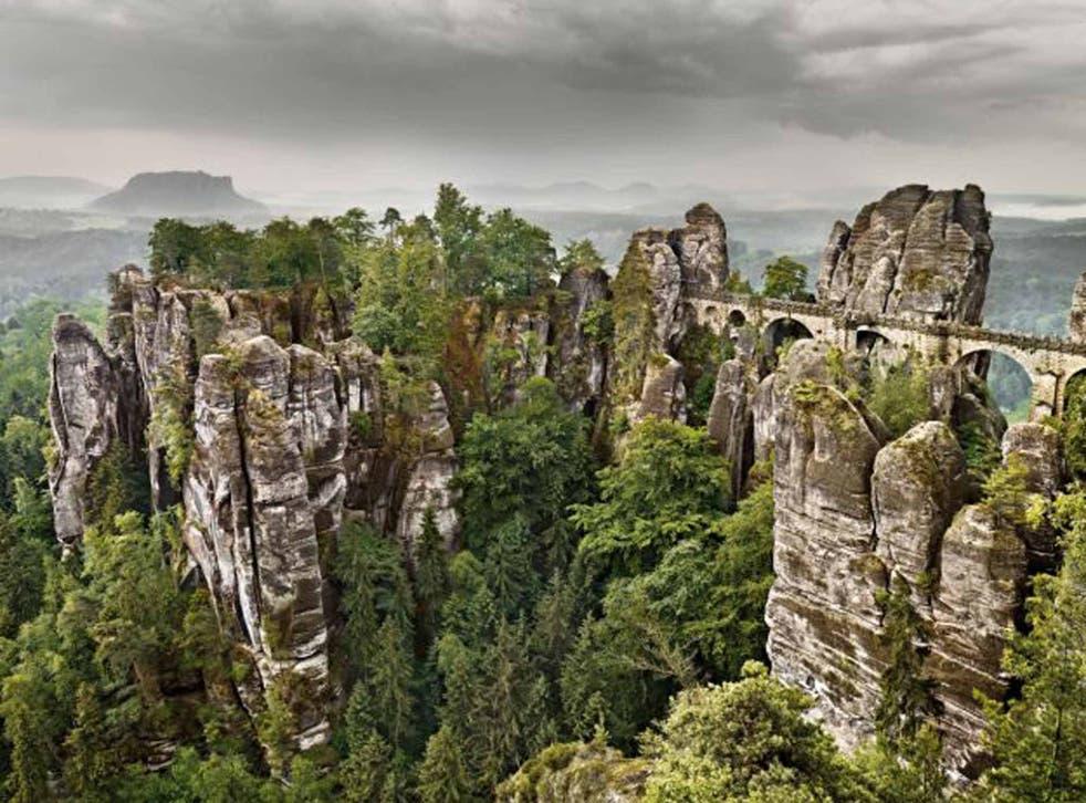 Rock star: the Elbe Sandstone Massif in Saxon Switzerland