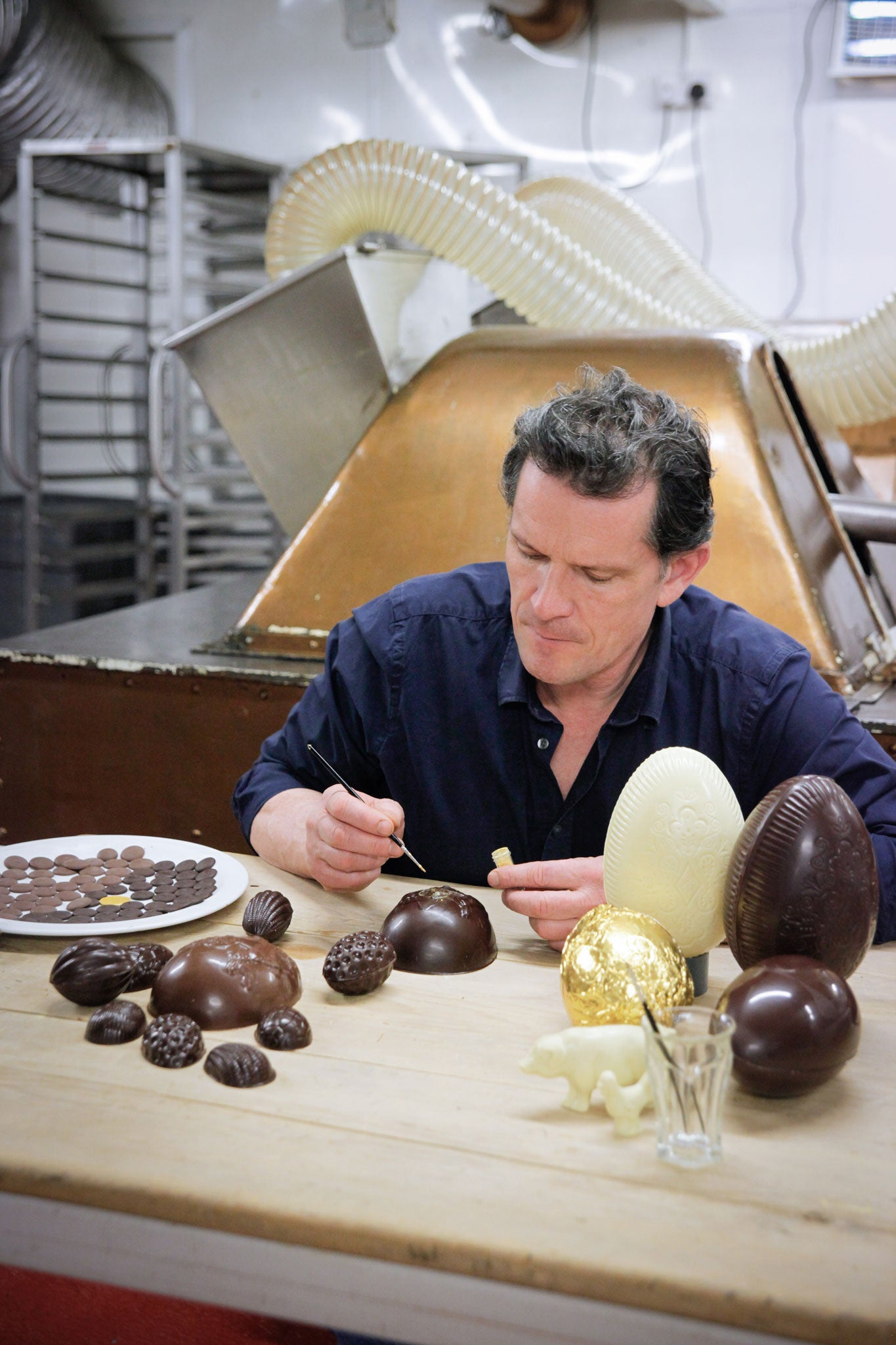 How to make your own Easter egg: Willie Harcourt-Cooze shares his chocolate recipes