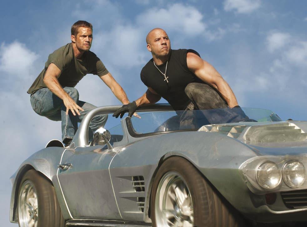 Paul Walker and Vin Diesel in Fast and Furious 5