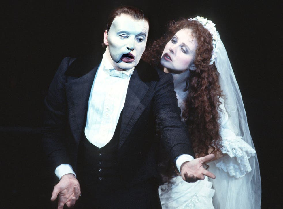 A scene from 'The Phantom of the Opera', for which Maria Bjornson designed the costumes