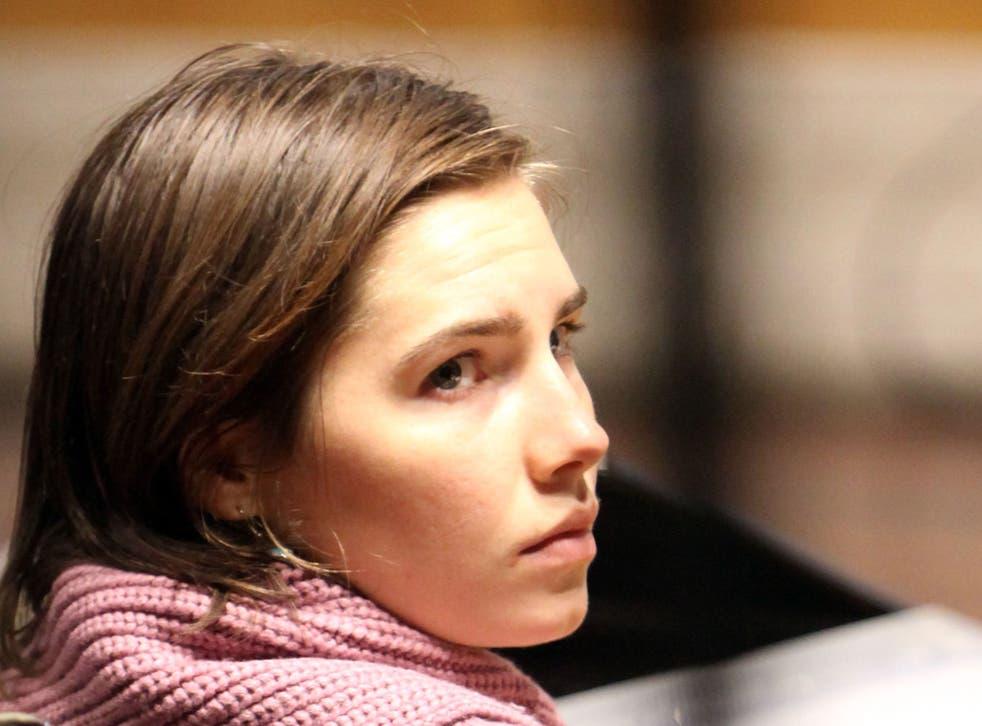 Amanda Knox on trial