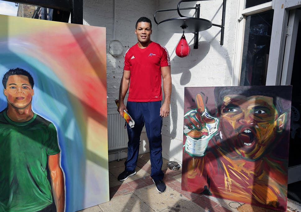 Joe Joyce Portrait Of The Artist As An Olympic Boxer The Independent