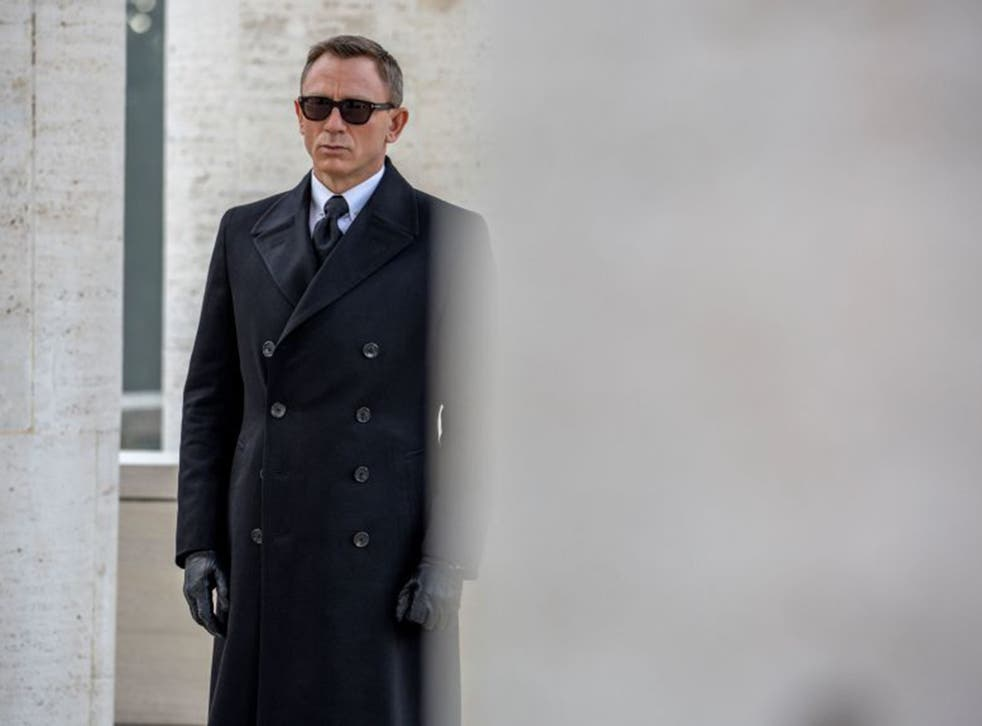 Daniel Craig in a scene from Spectre, released in the UK on 23 October
