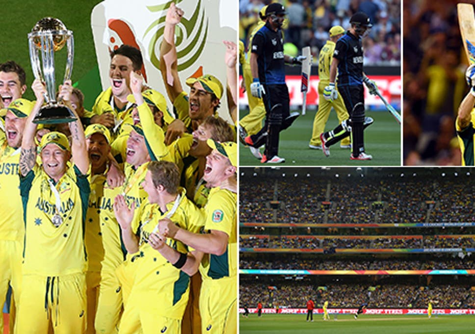 Cricket World Cup 2015 Final Australia Beat New Zealand By