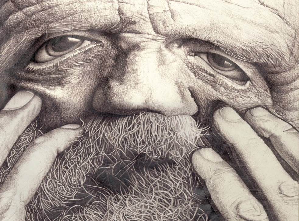 Biro - Beard Art created by Debra Yates a graphic designer