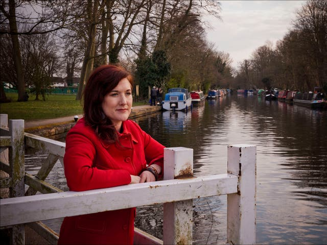Lois Pryce... Life Without a Postcode. Lois lives on a boat with her husband.. Registering to vote in the election has prooved to be very difficult without a fixed residential post code. (David Sandison)