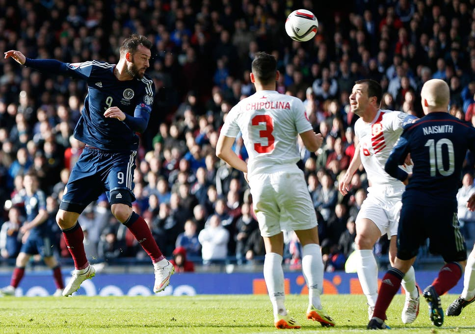 5d5b18c3086 Scotland vs Gibraltar match report  Steven Fletcher nets country s first hat -trick for 46 years in bounce-back win