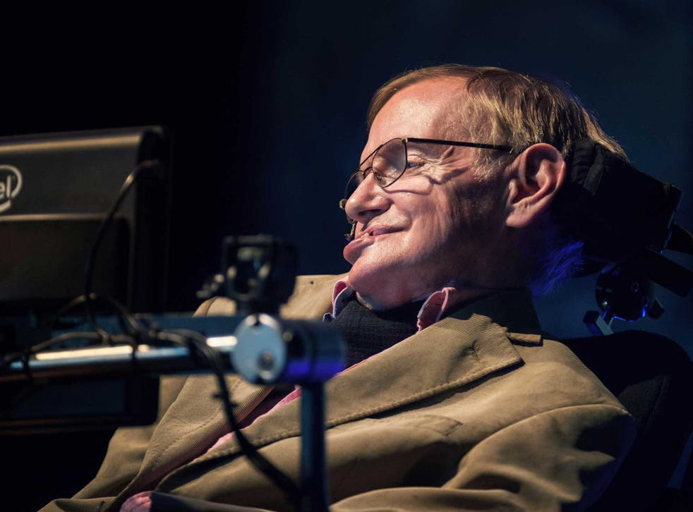 Stephen Hawking is reportedly taking steps to trademark his name