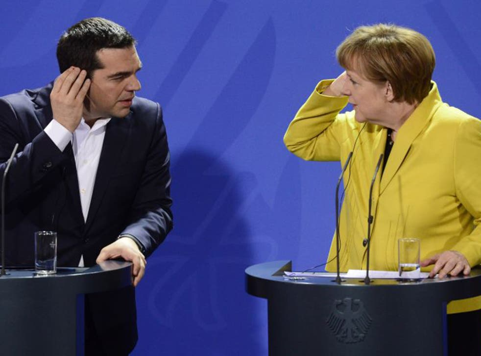 Seen and heard: Alexis Tsipras and Angela Merkel met in Berlin last Monday