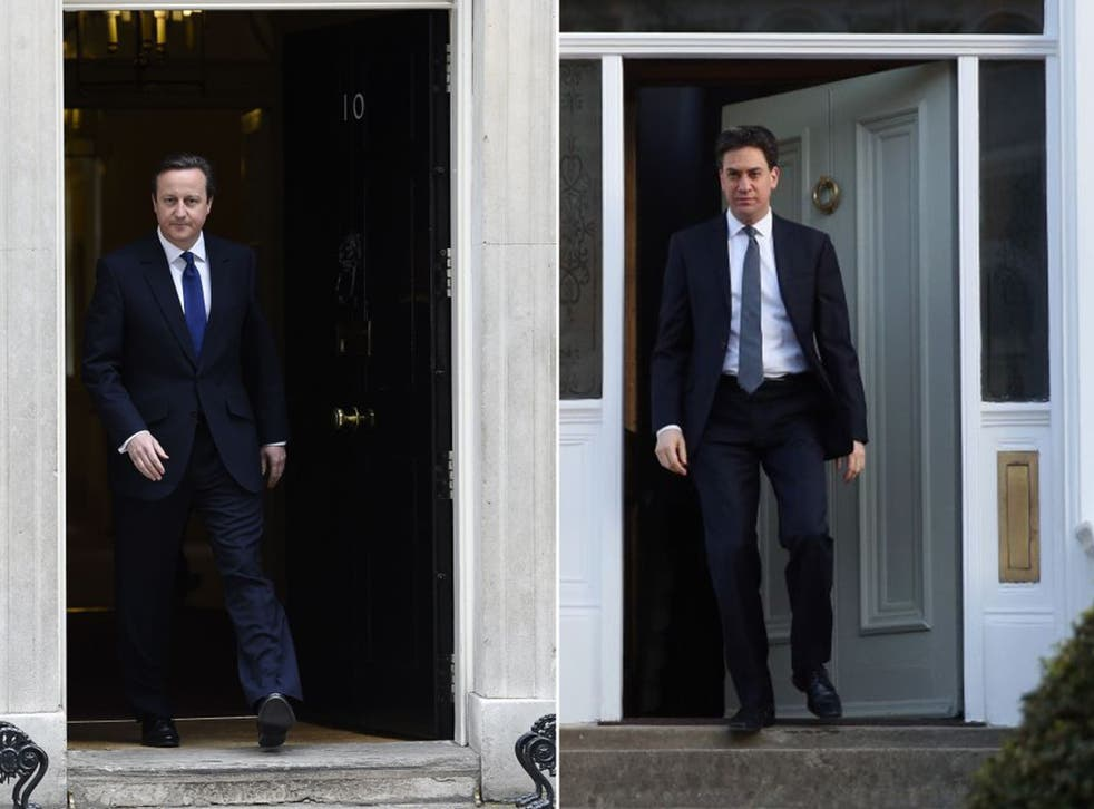 David Cameron and Ed Miliband officially launched their election campaigns yesterday after Parliament was dissolved