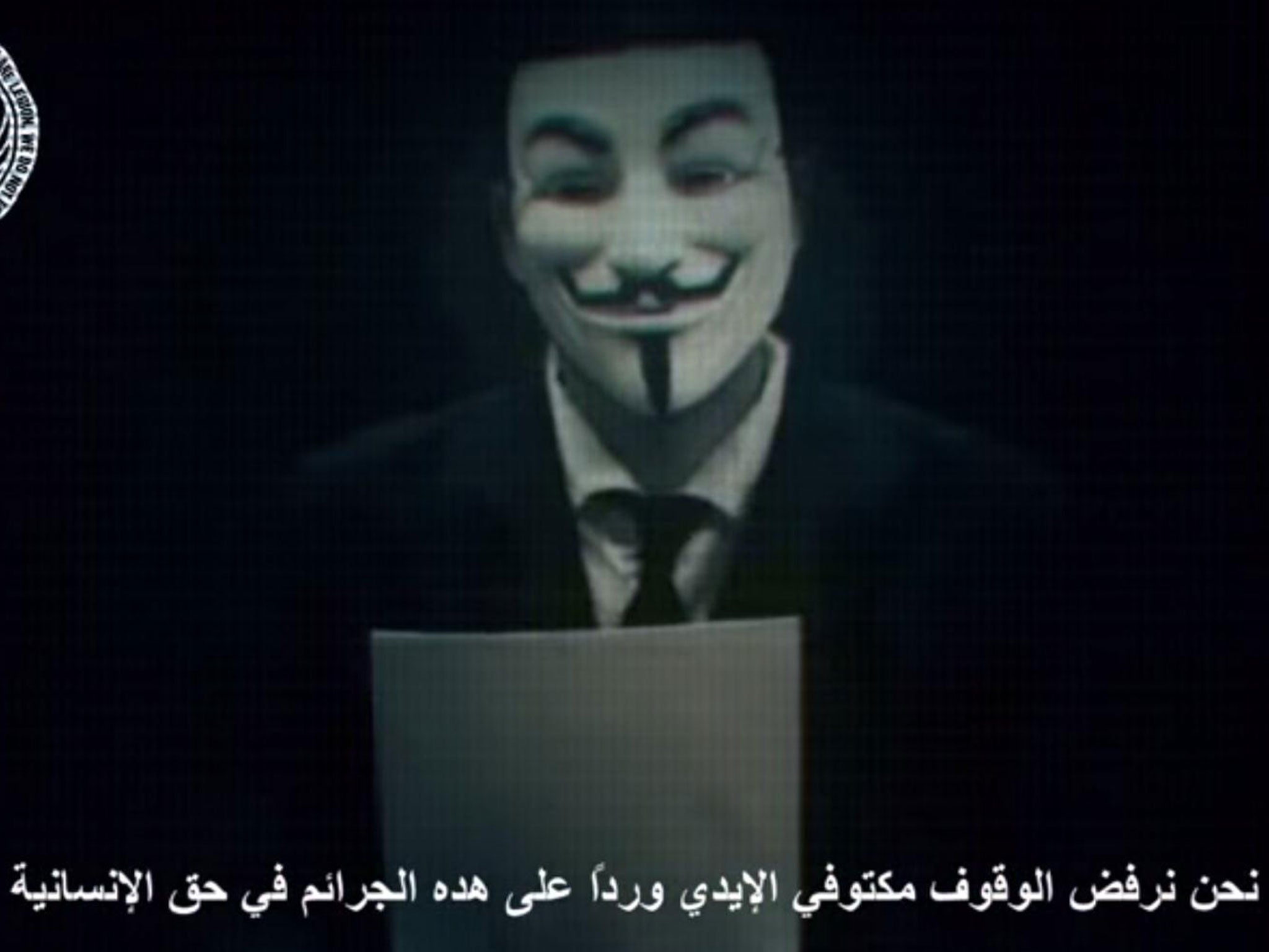 Anonymous vows to wreak 'electronic holocaust' on Israel for 'crimes