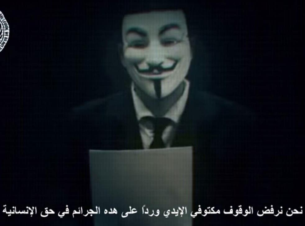 Anonymous threatened an 'electronic holocaust' on Israel on 7 April
