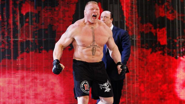 WWE Raw Results Brock Lesnar Suspended For Post Wrestlemania 31 Rampage After Losing Title To Seth Rollins