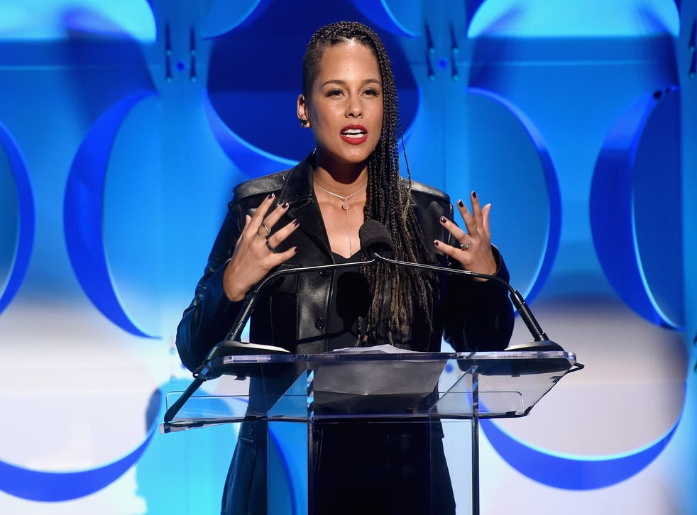 Alicia Keys introduces Jay Z's streaming service Tidal to the world