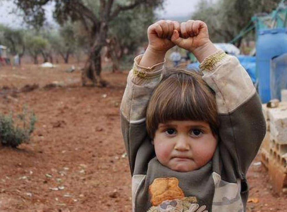 Turkish photographer Osman Sağırlı took this picture at the Atmeh refugee camp in December 2014