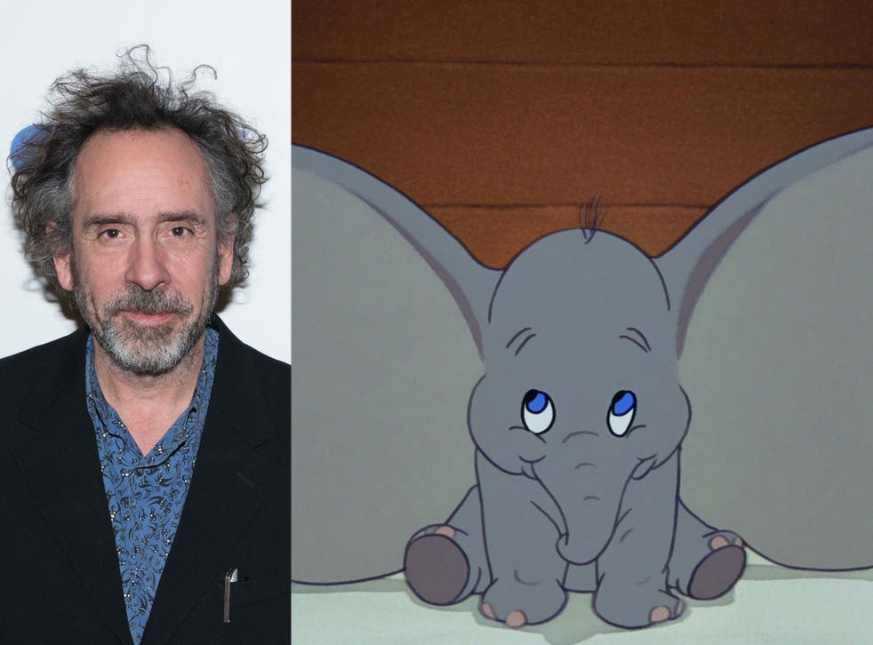 Tim Burton will direct a live-action remake of the 1941 classic animation Dumbo