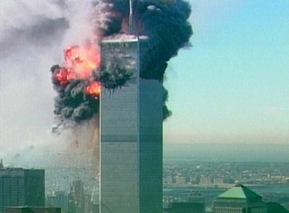 The attack on the World Trade Centre in New York (AP)