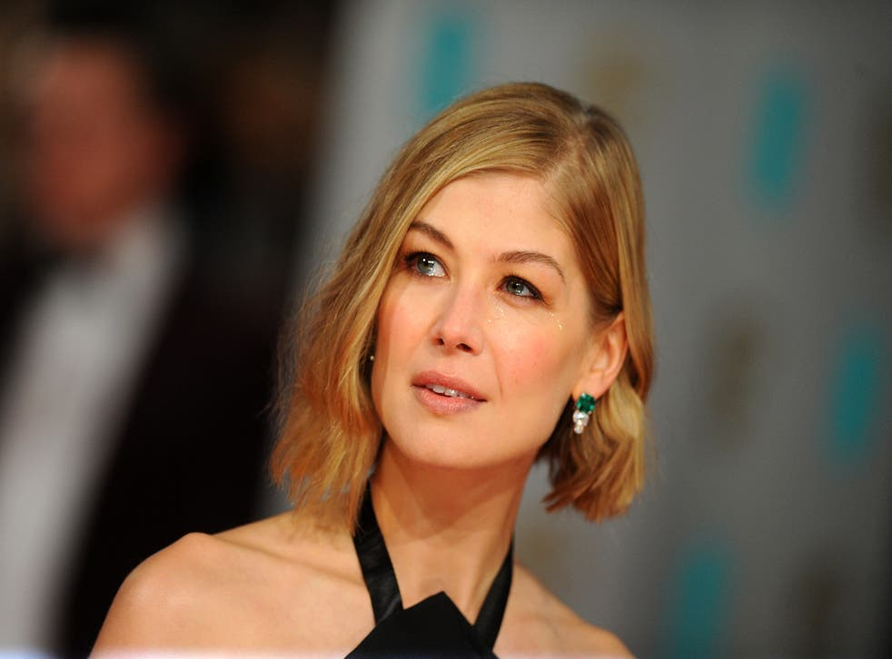 Rosamund Pike played Bond girld Miranda Frost, who died in Die Another Day (PA)
