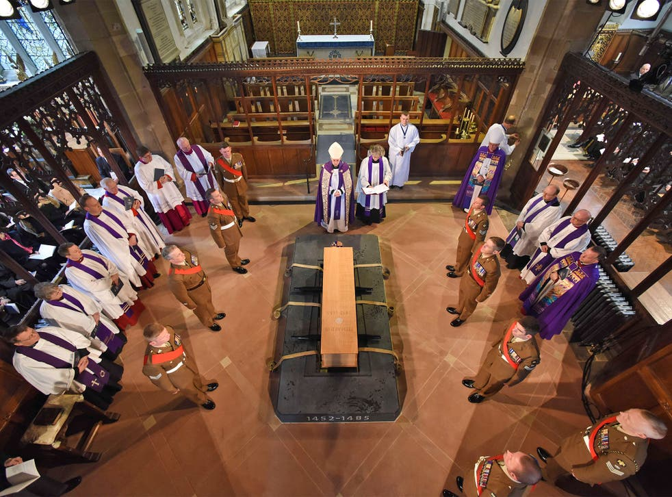 Richard III was buried at Leicester Cathedral last week
