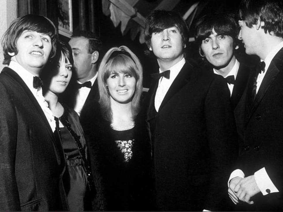 Eye Of The Storm Lennon Centre With Beatles And Ringos Wife