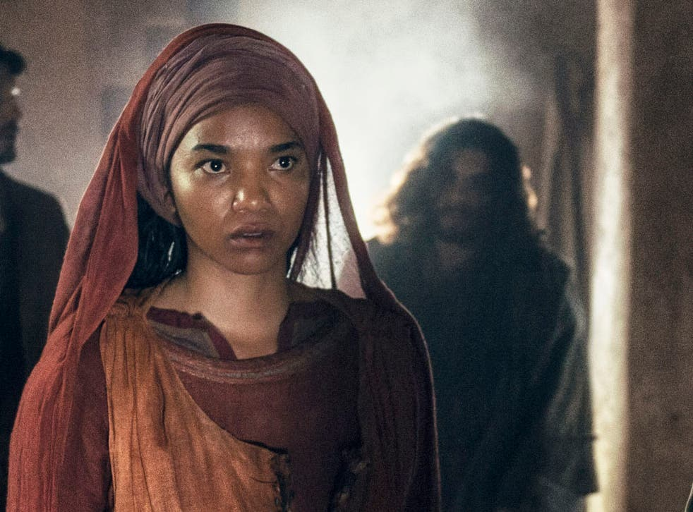 Chipo Chung as Mary Magdalene in A.D