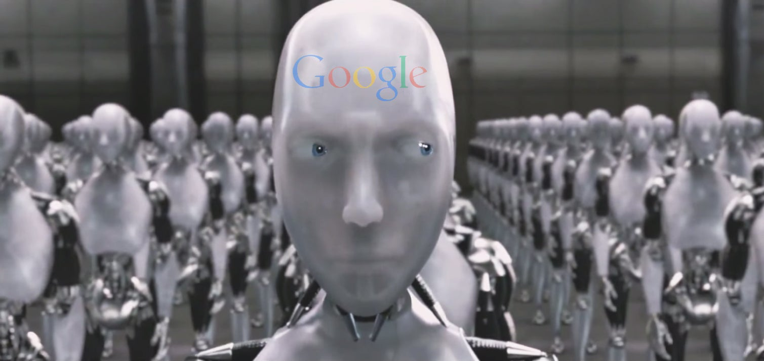 Google patents robots with personalities in first step towards the singularity