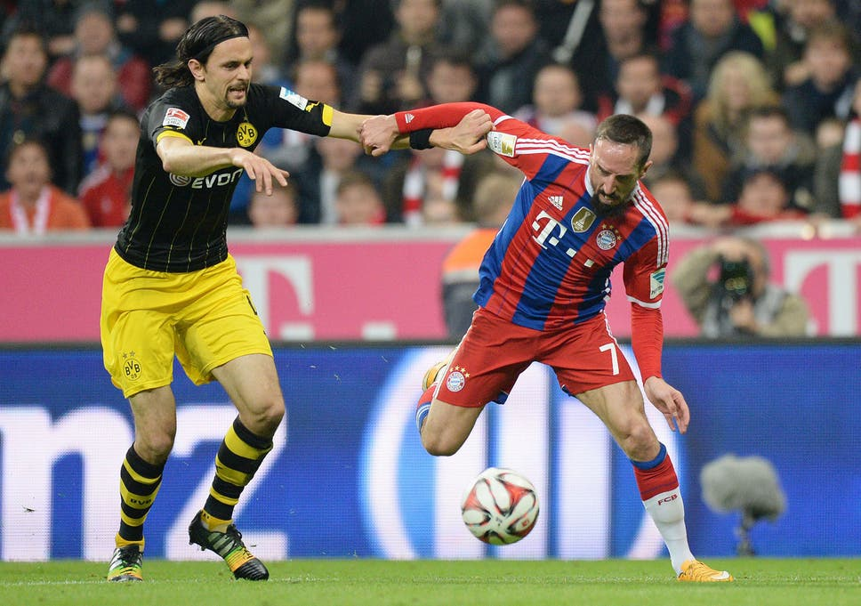 Image result for 2013 Champions League - Borussia Dortmund 1 Bayern Munich 2 duels