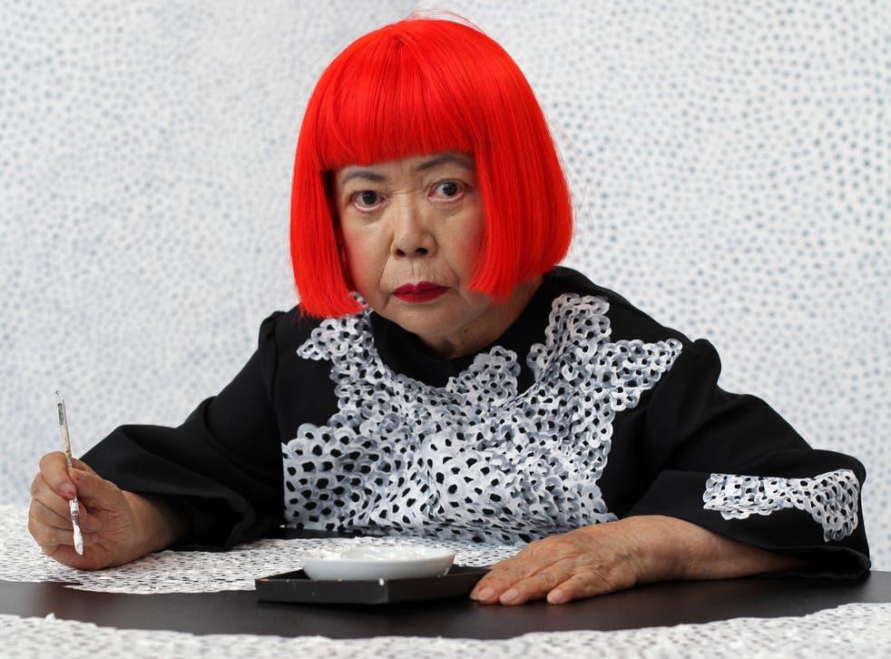 Artist Yayoi Kusama